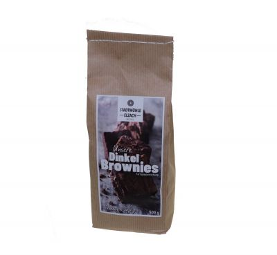 Dinkel-Brownies | Backmischung | 500g