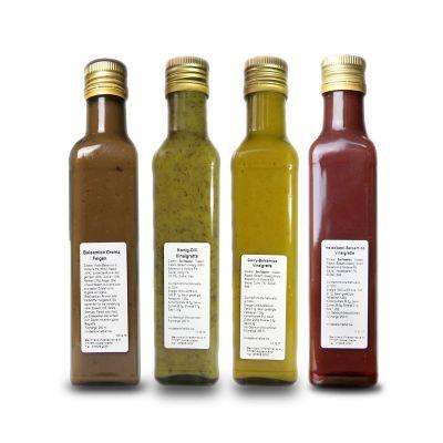 Wiedemer Vinaigretten | 4er Set, 4 x 250 ml