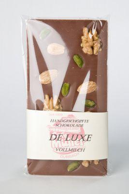 Schokoladentafel - Vollmilch DeLuxe - PREMIUM