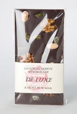 Schokoladentafel - Zartbitter DeLuxe - PREMIUM
