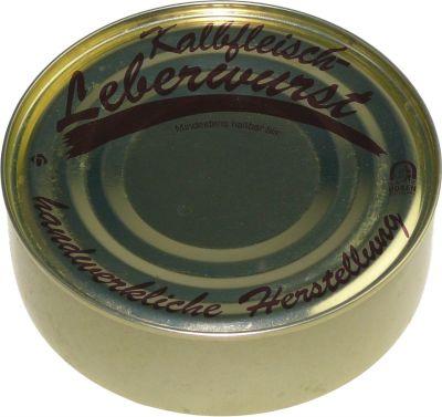 Dose Kalbfleisch-Leberwurst 200g