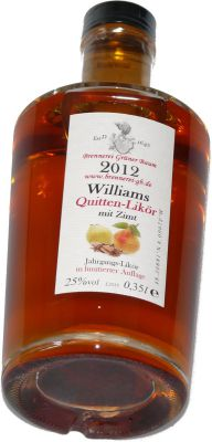 Williams Quitten Likör 0,35L 25% Alc. vol.