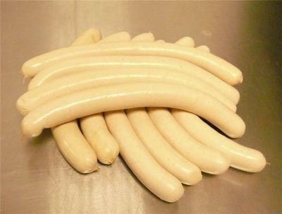 Bratwurst weiss 5 Paar
