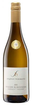 Siegbert Bimmerle - Grauer Burgunder Weißwein KABINETT - 0,75L