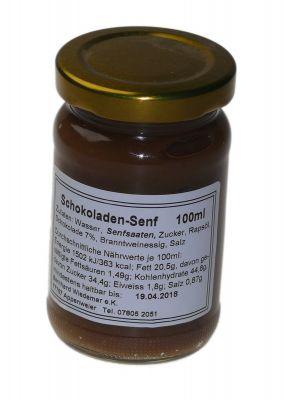 Gourmet Schokoladen Senf 100g