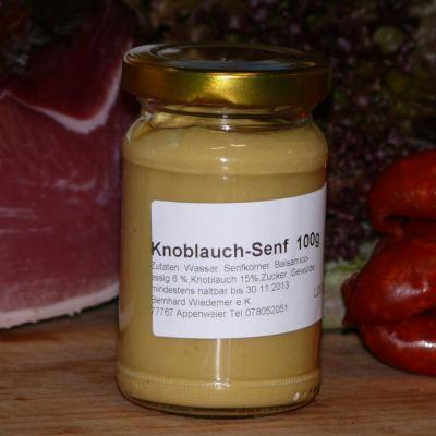 Gourmet Knoblauch Senf 100g
