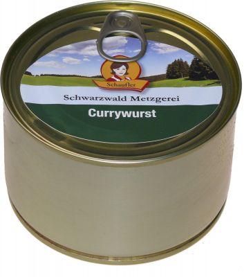 Currywurst - küchenfertig | 400g Dose