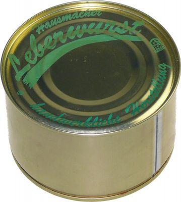 Dose Leberwurst 400g