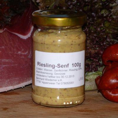 Gourmet Riesling Senf 100g