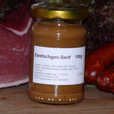 Gourmet Zwetschgen Senf 100g