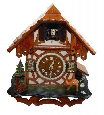 Kuckucks Uhr | groß | 20x22x12 cm
