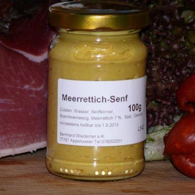 Gourmet Meerrettich Senf 100g