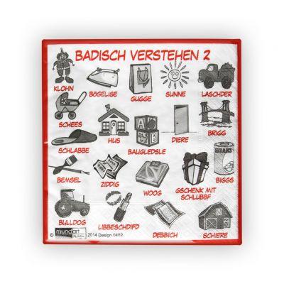 Servietten - Badisch Verstehen 2