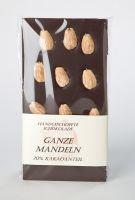 Schokoladentafel - Zartbitter Mandel - PREMIUM