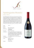 Siegbert Bimmerle - Spätburgunder Rotwein KABINETT - 0,75L