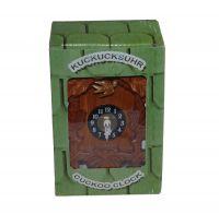 Kuckucks Uhr | klein | 16x10x7 cm